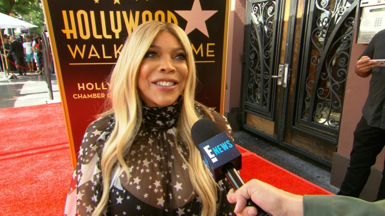 """Wendy Williams Gets Emotional When Addressing """"Very Tough Year"""" at Walk of Fame Ceremony"""