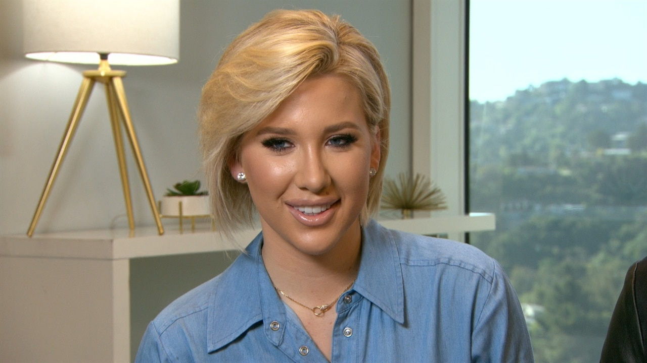 Savannah Chrisley Proudly Shows Off Her Dramatic New Haircut