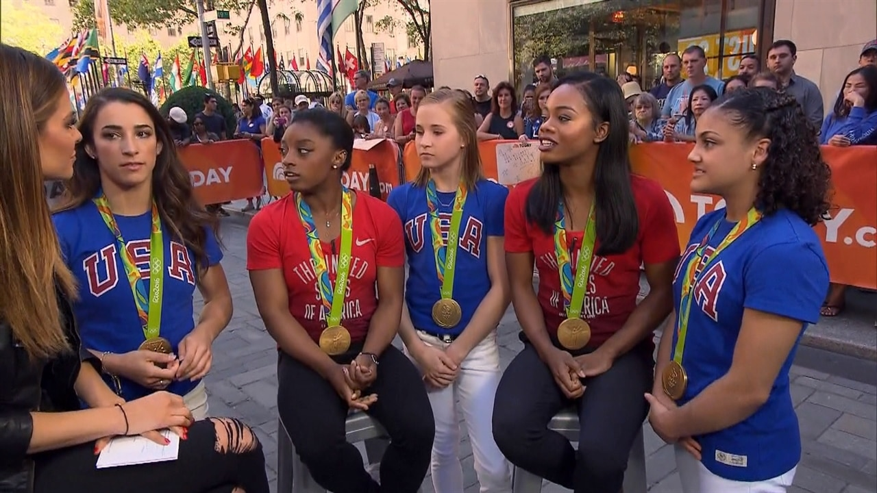 Team Usas Final Five Gymnasts Dont Like It When You Try To Pit