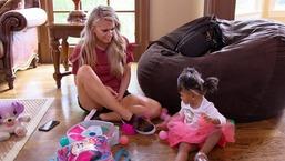 Kaylin Jurrjens Babysits Kierra Douglas' Daughter