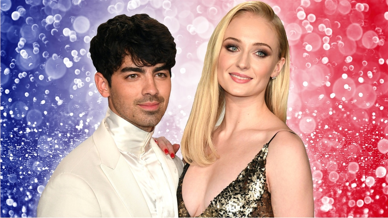 Sophie Turner's Wedding Dress Revealed: See Her and Joe Jonas' First Wedding Photo