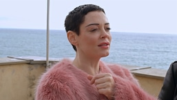 Rose McGowan Revisits Italian Childhood Compound