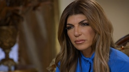 Teresa Giudice's Late Mom Comes Through During Reading
