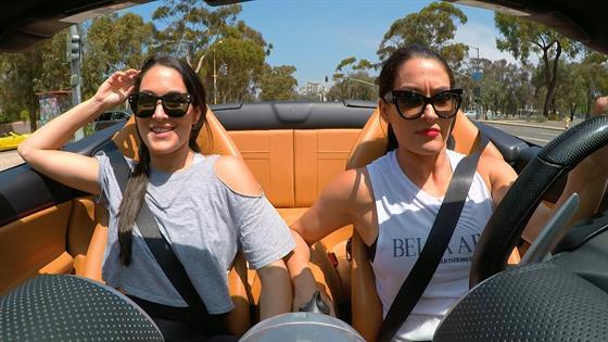 Nikki Bella Thinks Buying a Ferrari Is